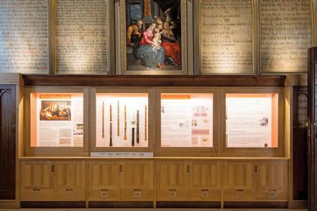 Bespoke Church Display Cases Form Treske