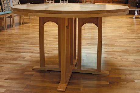 Wesley Methodist Church communion table