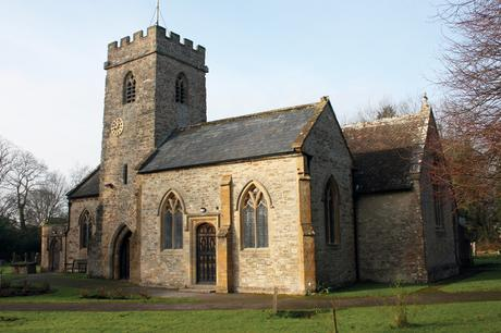 The exterior of St John the Evangelist in Staplegrove on the outskirts of Taunton