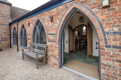 St Joseph's Stokesley internal foyer and entrance