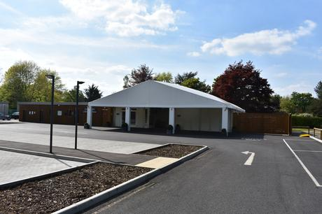 Guildford Temporary Crematorium - Scheme