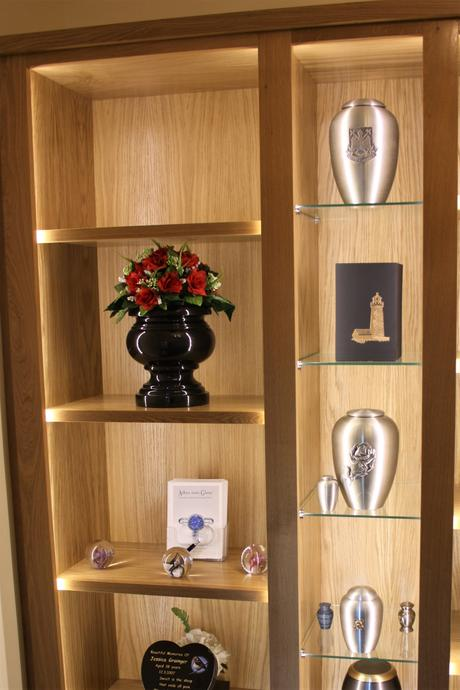 Memorial & Display Bookcases