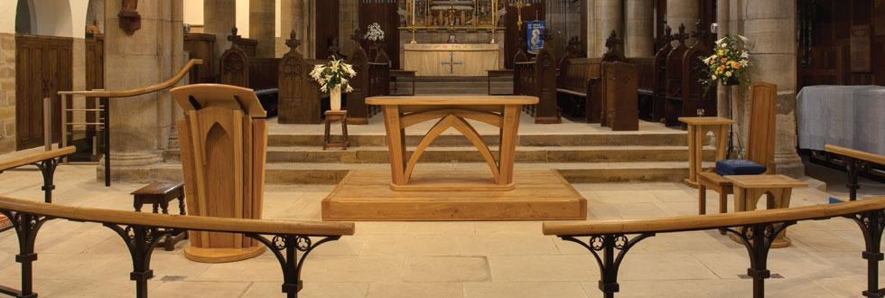 Altar, Lectern & Credence Table, St Chads, Headingley