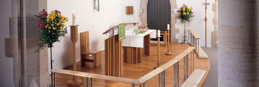 Sanctuary Furniture & Altar Rail, St Martins, Rochdale