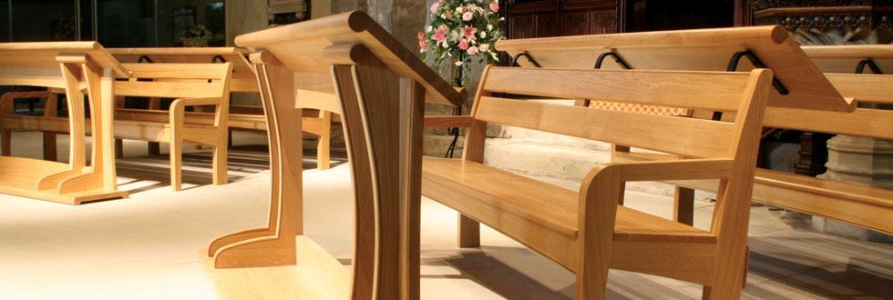 Choir Stalls & Pews, St Michaels, Houghton-le-spring