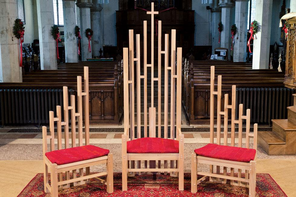 St Michaelu0027s, Framlingham Bernard Merry Designer; Caroe U0026 Partners