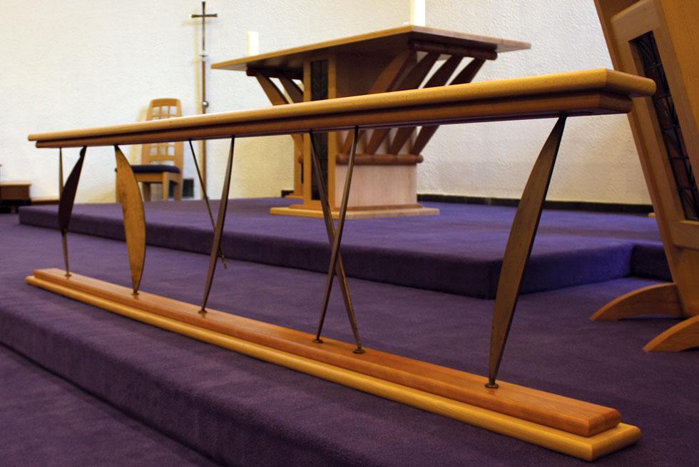 Altar rails from treske church furniture