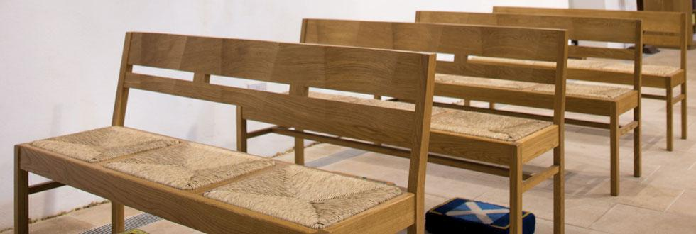 Church Stacking Benches
