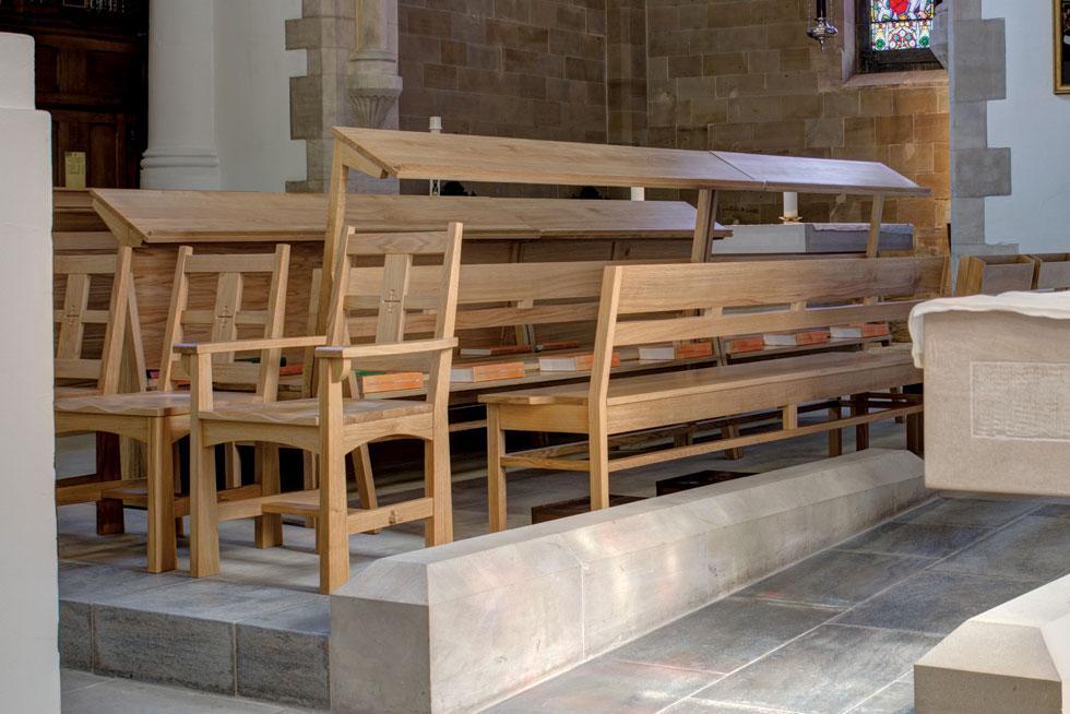 Bespoke Choir Stalls From Treske