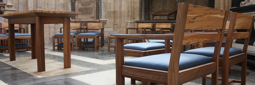 Bray Chantry Furniture, St Georges Chapel, Windsor Castle