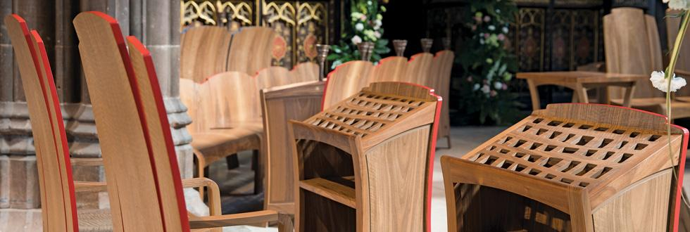 Clergy Chairs & Litany Desks