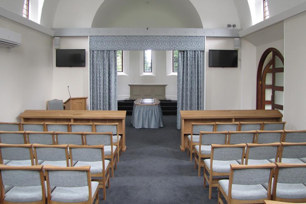 Hawkinge Crematorium Treske Church Furniture