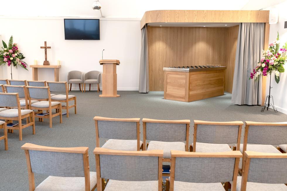 Guildford Temporary Crematorium Treske Church Furniture
