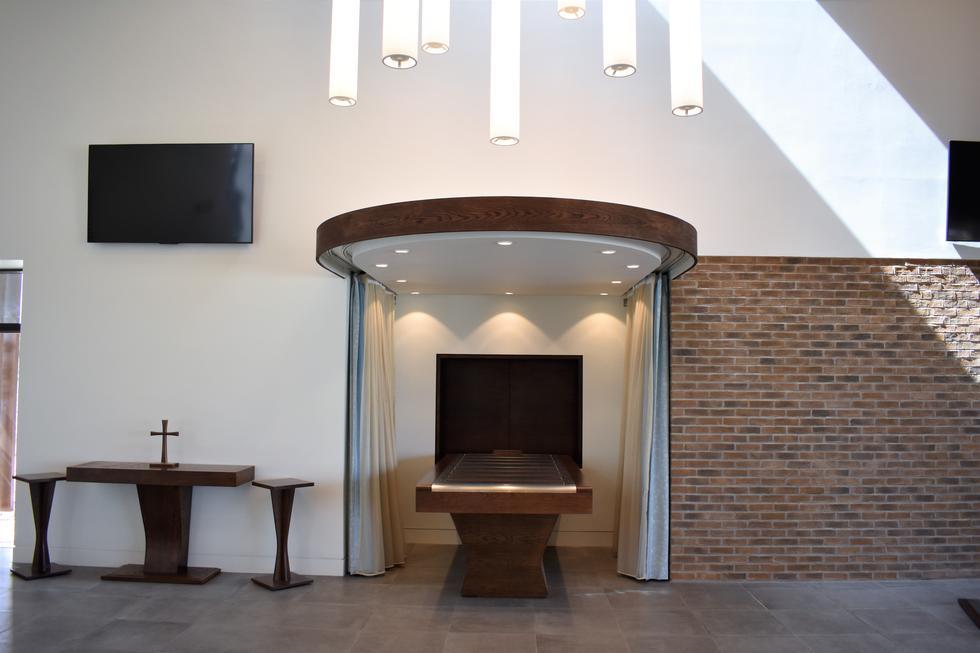 Stockton Council Crematorium Treske Bespoke Crematorium Furniture
