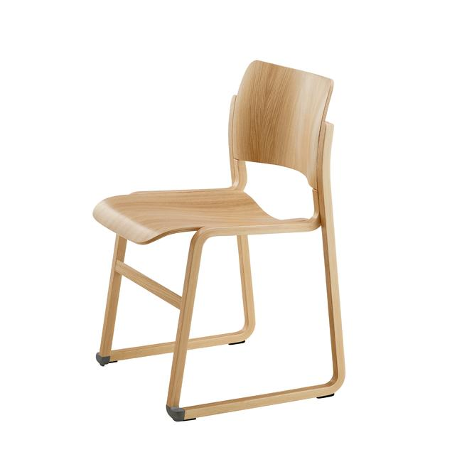 Howe 40/4 Wood Stacking Chair